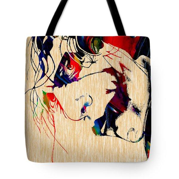 The Joker Heath Ledger Collection Tote Bag