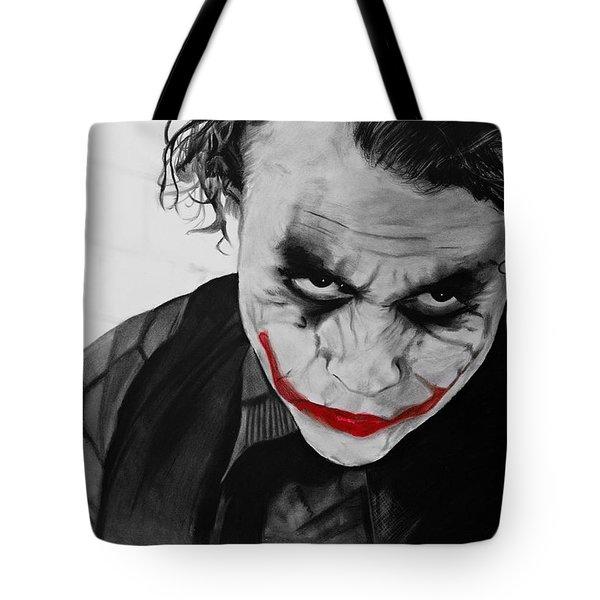 The Joker Tote Bag by Robert Bateman