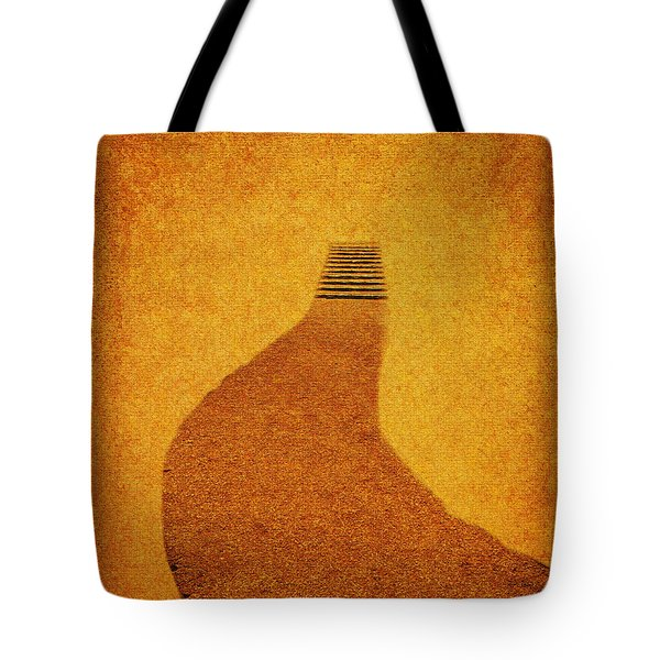 The Journey Pathway Minimalism Tote Bag