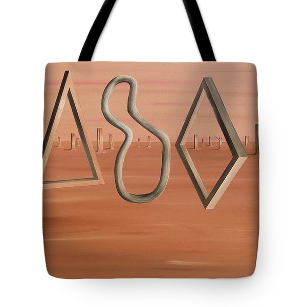 The Journey Continues Tote Bag by Tim Mullaney