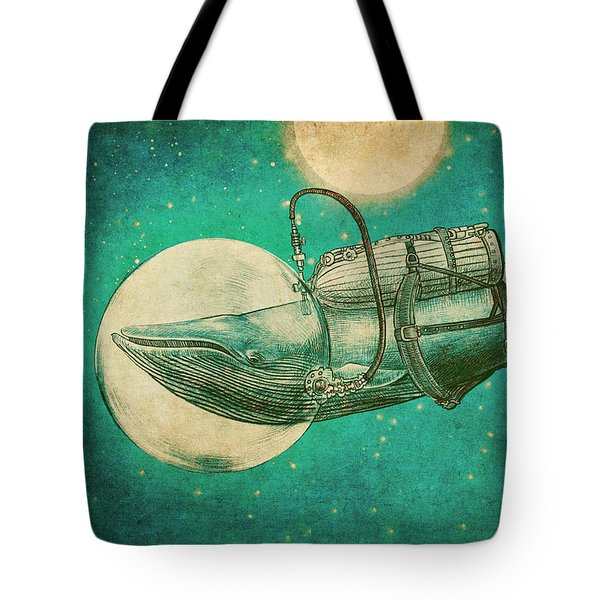 The Journey Tote Bag by Eric Fan