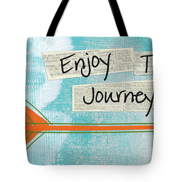 The Journey Tote Bag by Linda Woods