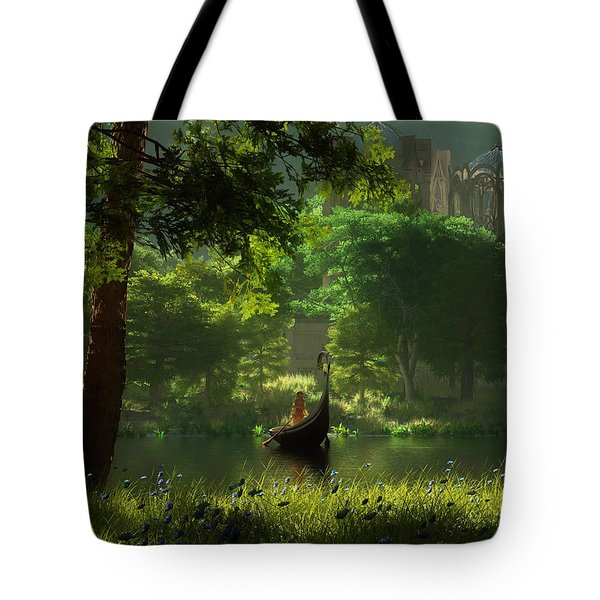 The Journey Tote Bag by Melissa Krauss