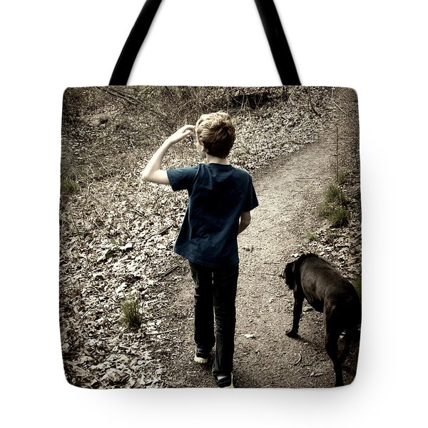 The Journey Together Tote Bag by Bruce Carpenter