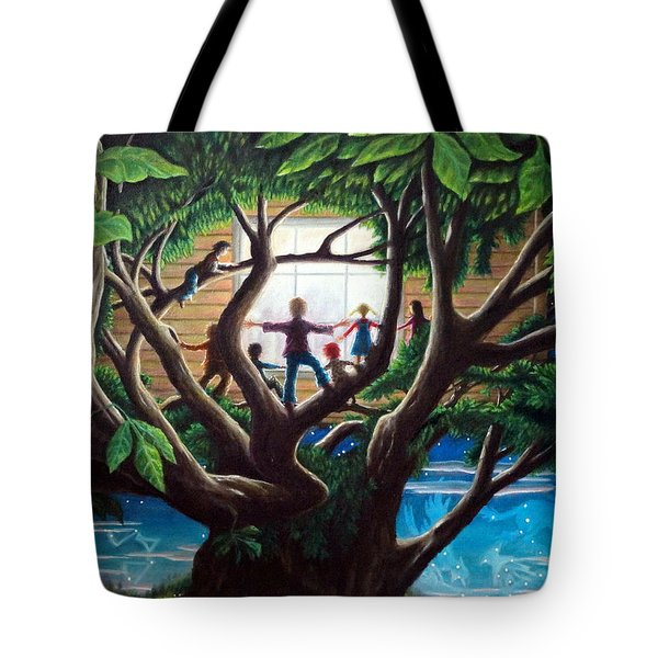 The Judgement  The Unseen And The Rendering Tote Bag