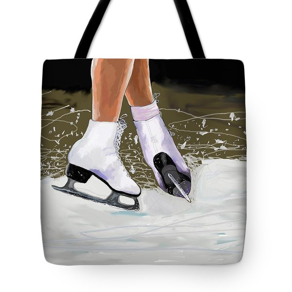 The Jump Tote Bag by Jeanne Fischer