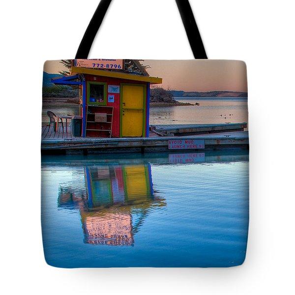 The Kayak Shack Morro Bay Tote Bag