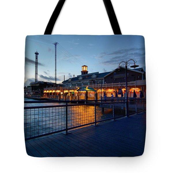 The Kemah Boardwalk Tote Bag