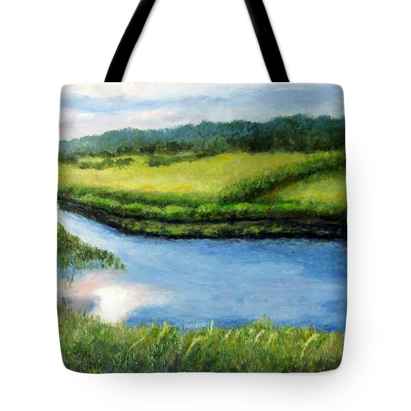 The Kennebecasis River Tote Bag