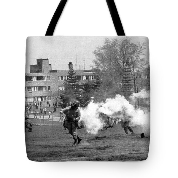 The Kent State Massacre Tote Bag by Underwood Archives