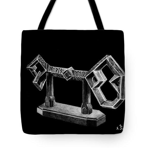 The Key To Erebor Tote Bag by Kayleigh Semeniuk