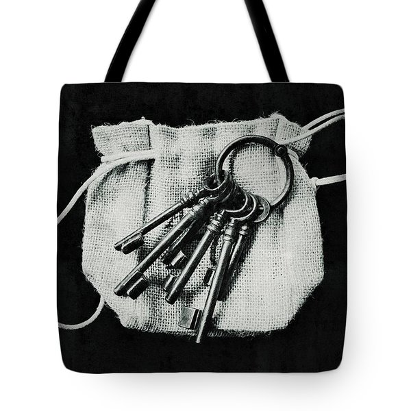 The Keys Tote Bag by Marco Oliveira