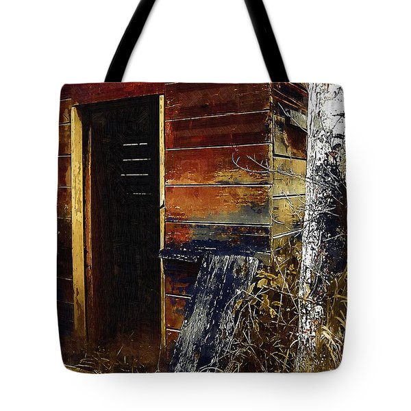 The Killing Shed Tote Bag by RC DeWinter