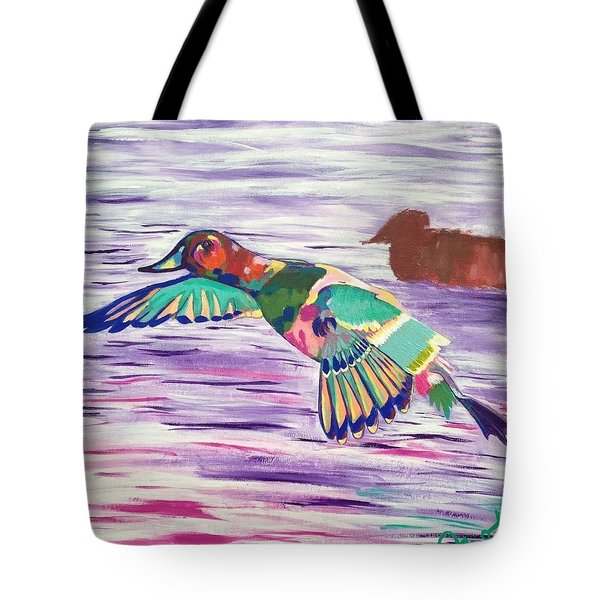 The King Canvasback Tote Bag