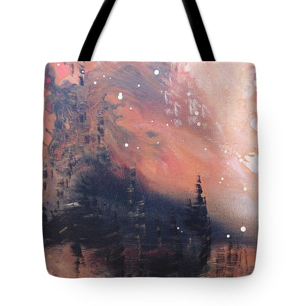 The Kingdom Under The Mountain Tote Bag by Kume Bryant
