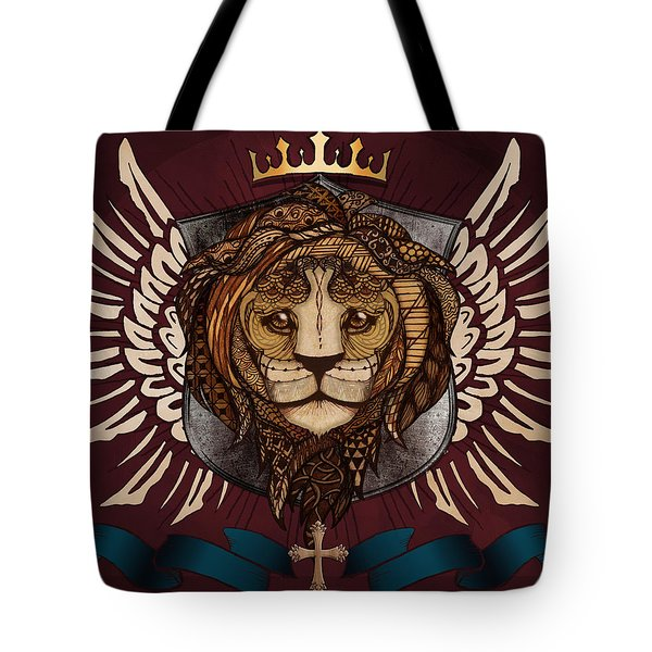 The King's Heraldry Tote Bag