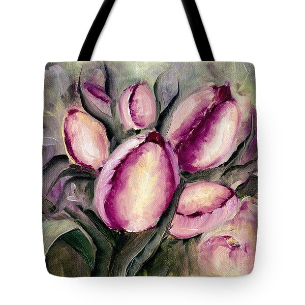 The Kings Tulips Tote Bag