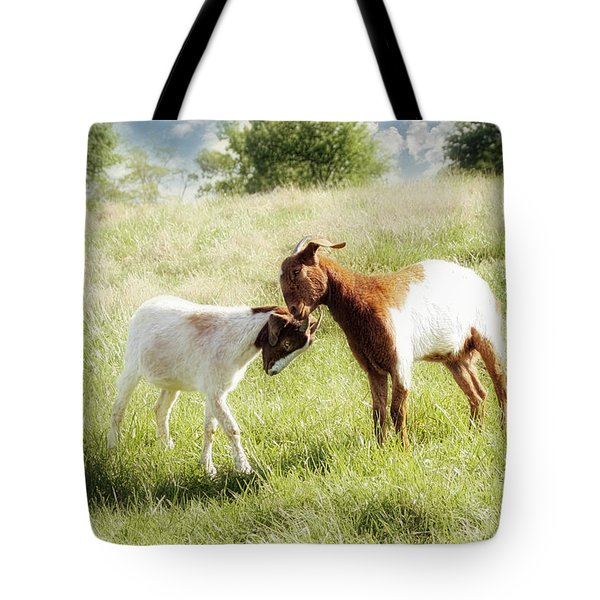 The Kiss Tote Bag by Amy Tyler