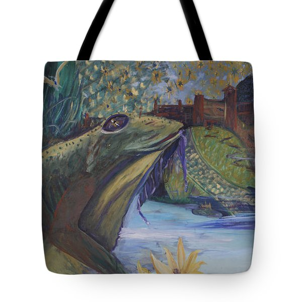 To Kiss A Frog Tote Bag