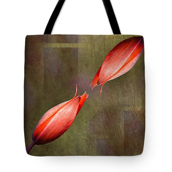 The Kiss Tote Bag by Claudia Moeckel