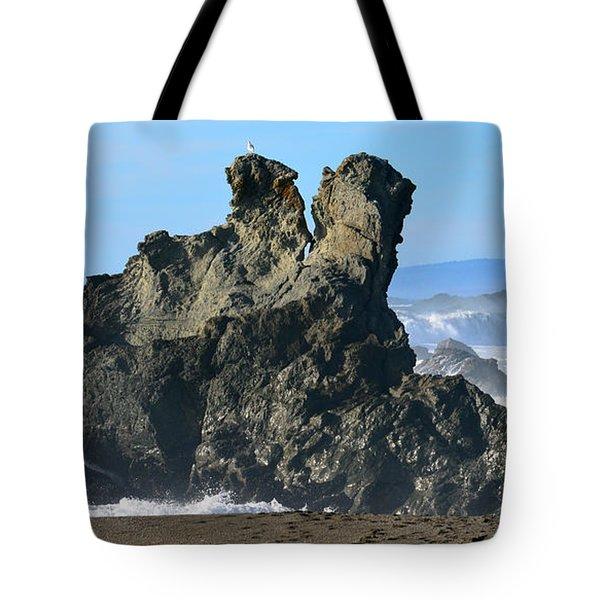 The Kissing Rocks Tote Bag