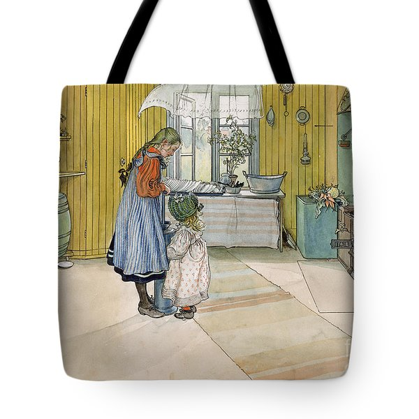 The Kitchen From A Home Series Tote Bag