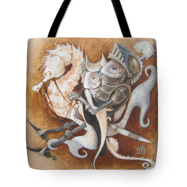 The Knight Tale Tote Bag by Marina Gnetetsky