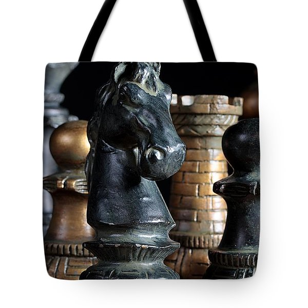 The Knights Challenge Tote Bag by Joe Kozlowski