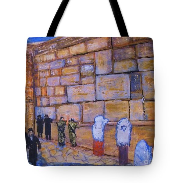 The Kotel Tote Bag