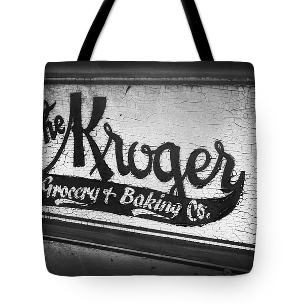 The Kroger Sign Tote Bag
