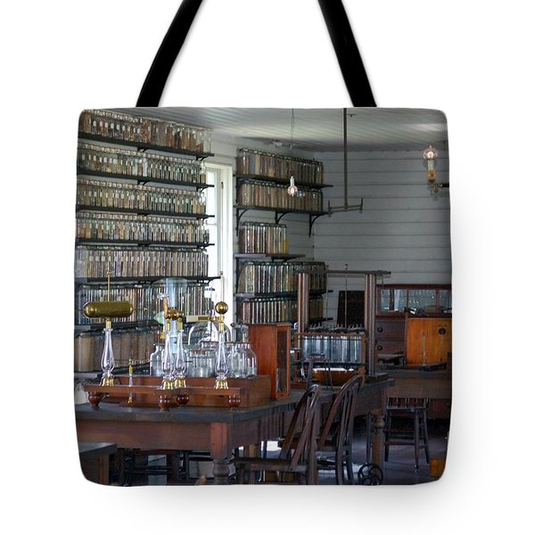 The Laboratory Tote Bag by Patrick Shupert