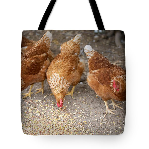 Tote Bag featuring the photograph The Ladies by Erika Weber