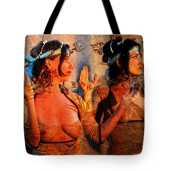 The Ladies Of Knossos Tote Bag