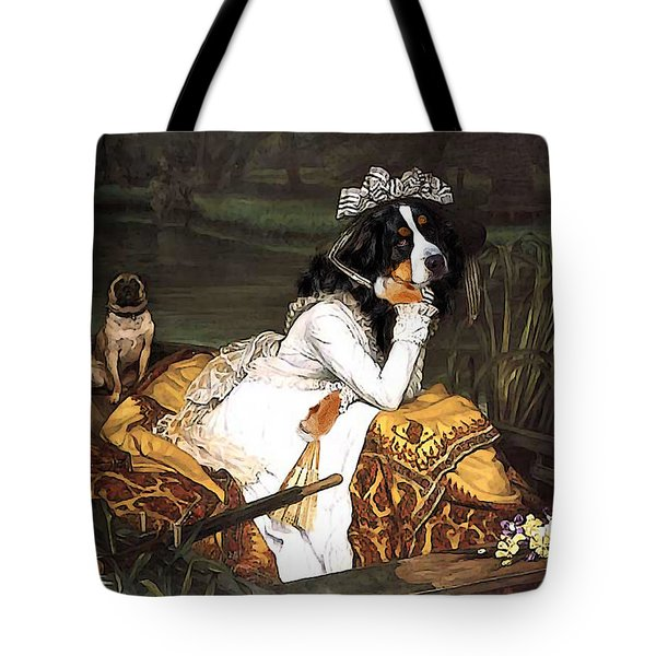 The Lady Of The Lake Tote Bag by Jaime De Haas