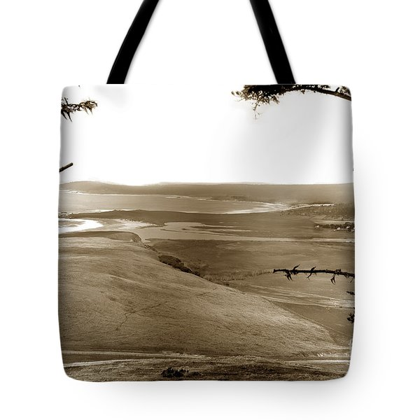 The Lagoon At The Mouth Of The Carmel River  From Fish Ranch California 1905 Tote Bag