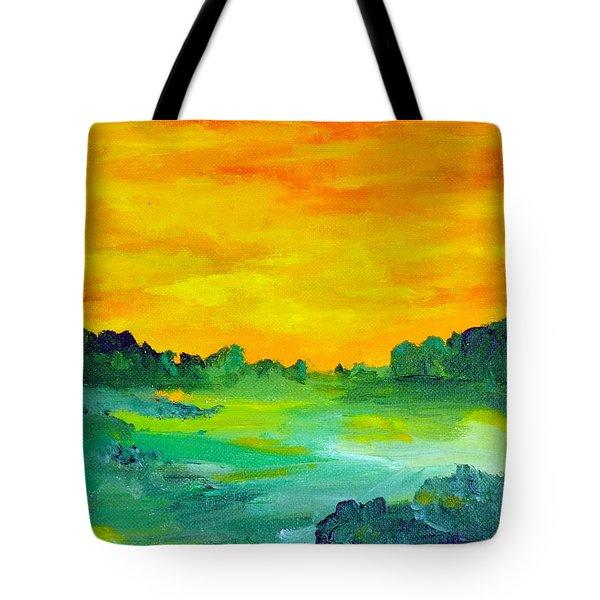 The  Lagoon Tote Bag