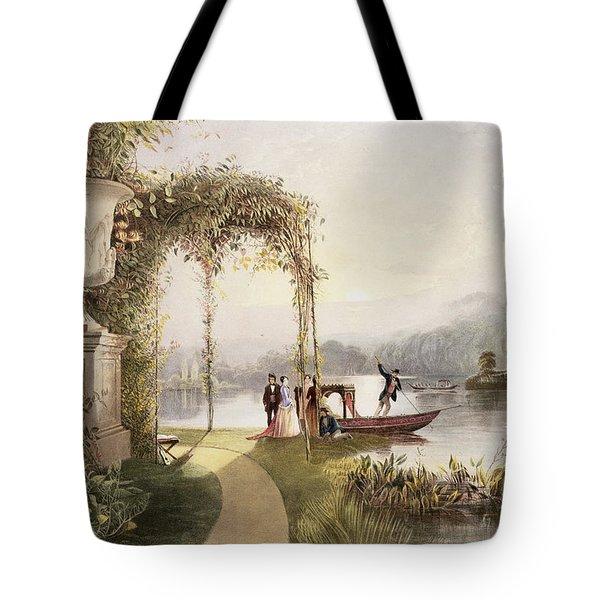 The Lake  Trentham Hall Gardens Tote Bag
