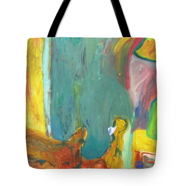 The Lamp And Bamboo Tote Bag
