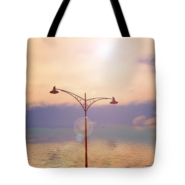 The Lampost Tote Bag