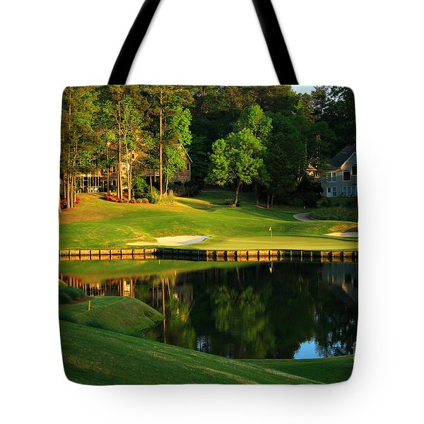 Golf At The Landing #3 In Reynolds Plantation On Lake Oconee Ga Tote Bag