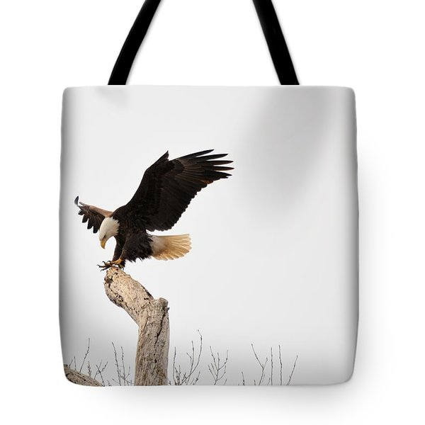 The Landing Tote Bag by Bonfire Photography