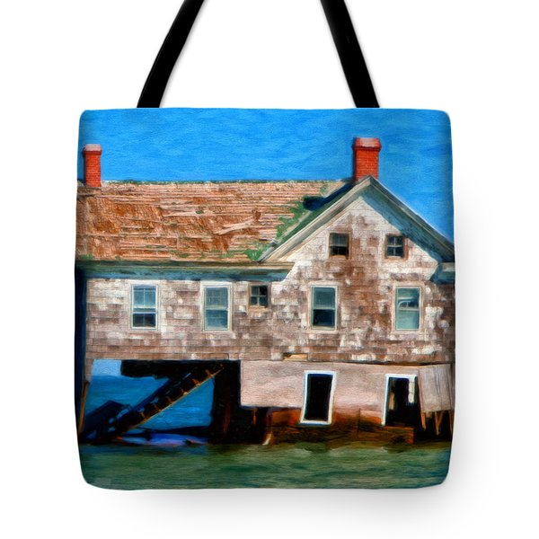 The Last House On Holland Island Tote Bag
