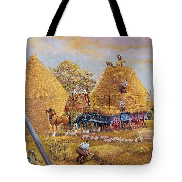 The Last Load Tote Bag by Dudley Pout