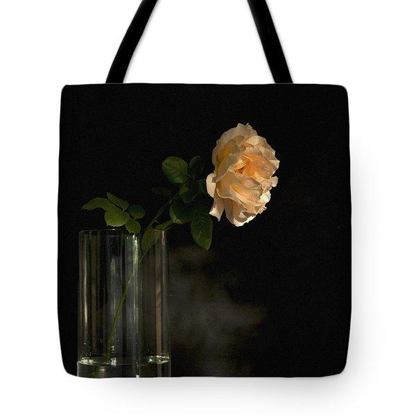 The Last Rose Of Summer Tote Bag by Theresa Tahara