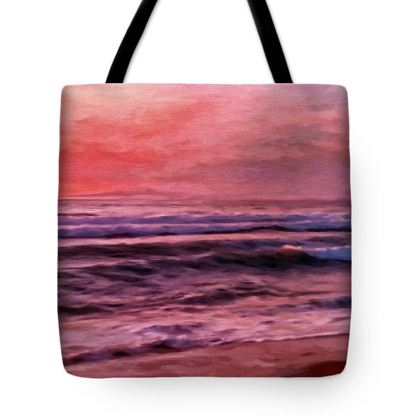 The Last Set Tote Bag by Michael Pickett
