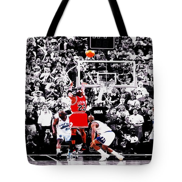 The Last Shot Tote Bag