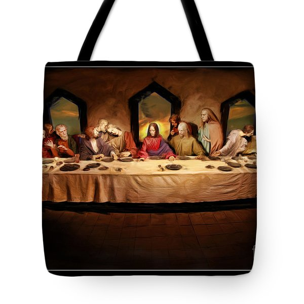 The Last Supper Tote Bag by Blake Richards
