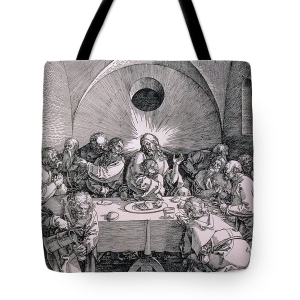 The Last Supper From The 'great Passion' Series Tote Bag by Albrecht Duerer