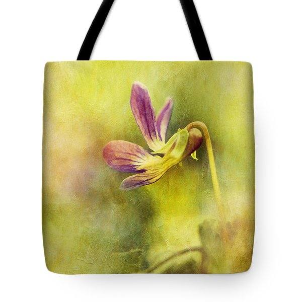 The Last Violet Tote Bag by Lois Bryan