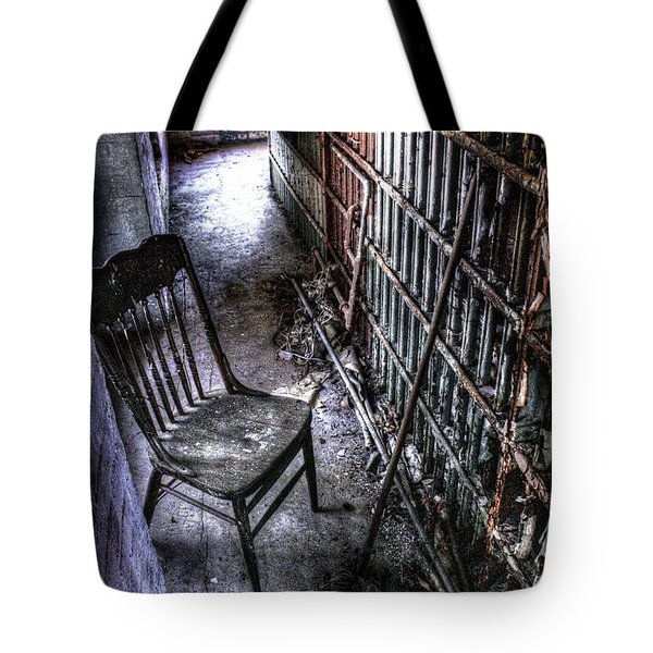 The Last Visitor Tote Bag by Dan Stone